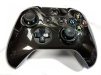 Crystal Cover Black Xbox One Controller